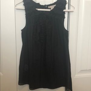 Black sleeveless top from BCBGeneration XS